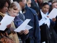 Bajaron solicitudes por desempleo en Estados Unidos