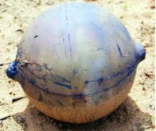 NASA: Un objeto de metal cae del espacio en Namibia