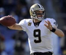 NFL:  Drew Brees hombre record en yardas por aire