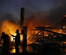 Incendio en Los Angeles, California