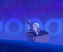 Astrónoma Caroline Herschel, en el doodle de hoy